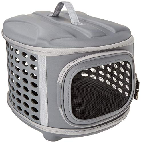 Pet Magasin Collapsible Cat Carrier with Hard Cover
