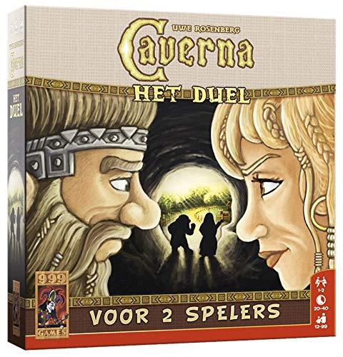 999 Games 999-Cav04 Caverna: Het Duel Bordspel Bordspel, Multikleur