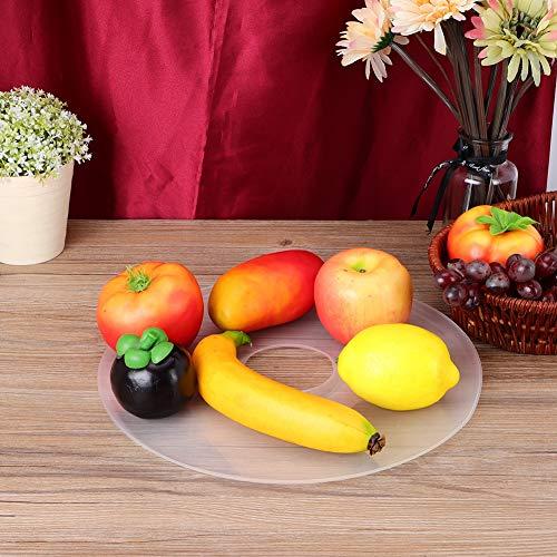 Jopwkuin Bandejas Deshidratadoras, Bandejas Reutilizables De Cuero De Frutas Resistentes Al Calor De Grado Alimenticio para Acción De Gracias para El Hogar Accesorio para El Día De San Valentín para