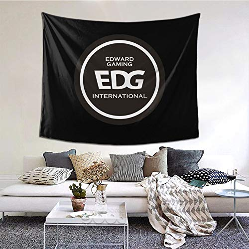 GEHIYPA Edg Team Logo Awall Hanging Tapestry 3d Printing Wall Poster Decor For Room Living One Size