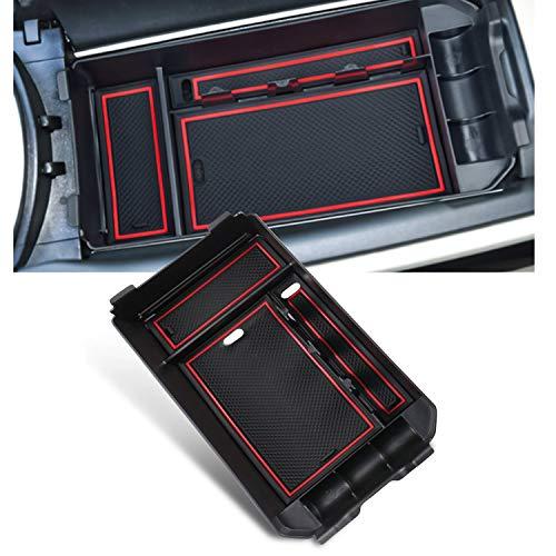 YEE PIN Mittelkonsole C Class W205 / GLC X253 Handschuhfach für Armlehne Organizer Aufbewahrungsbox Mit Rutschfestermatte Autozubehör