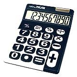 Milan 150610BBL - Calculadora de sobremesa, 10 dígitos, color azul y blanco