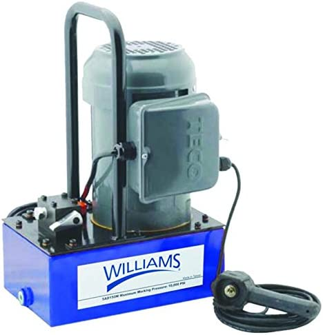 Williams Hydraulics 5EA05H1G .5 Horse R Complete Free Shipping Power Auto Raleigh Mall Pump Electric