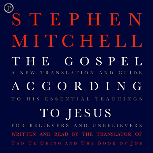The Gospel According to Jesus Audiobook By Stephen Mitchell cover art
