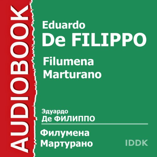 Filumena Marturano audiobook cover art