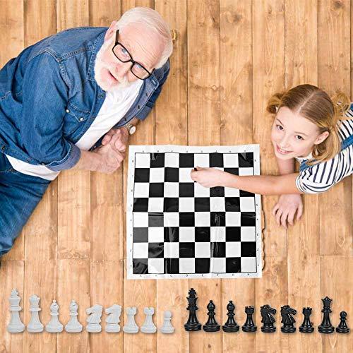 Denkerm Jeu d'échecs International en Plastique Durable, échecs internationaux, pour la Maison d'activités de...