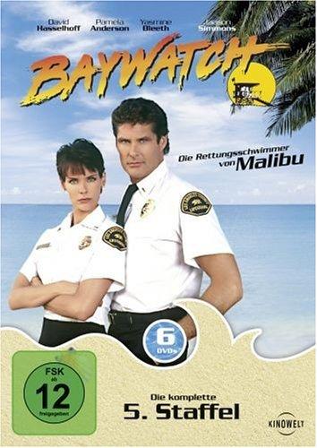 Baywatch - Die komplette 5. Staffel (6 DVDs)