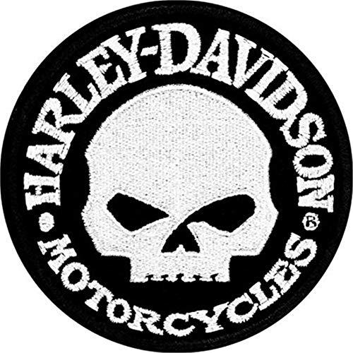 Harley-Davidson Aufnäher Hubcap Patch