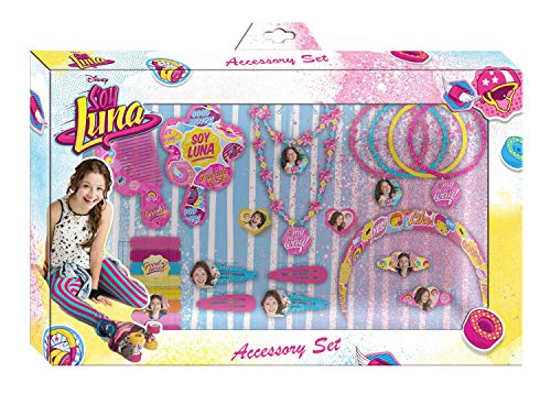 HOVUK Licenced Disney Character Soy Luna Girls Jewellery and Hair Accessories Set Christmas Kids Gift 3+year