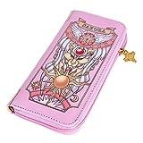 Gumstyle Cardcaptor Sakura Anime Zipper Wallet Long Clutch Purse Coin Pocket 1