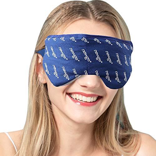 Beheizte Augenmasken Hot Steam Schlaf Augenmaske zu Entlasten Geschwollene Augen Dunkle Kreis Augen Trockene Augen Blepharitis Stress müde Augen - Blau