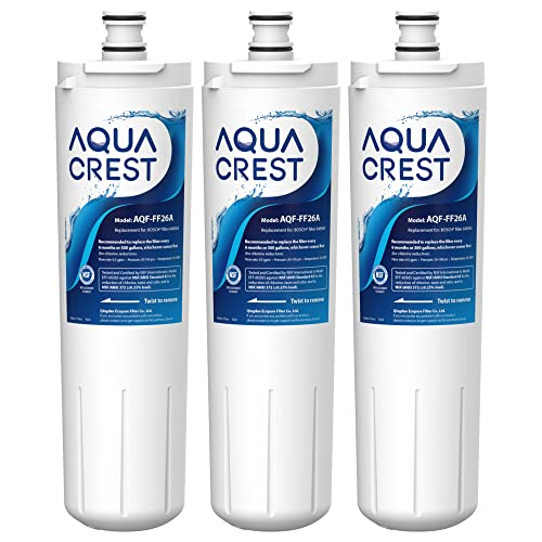 AQUACREST Replacement 640565 Refrigerator Water Filter,...