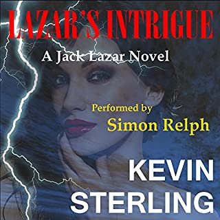 Lazar's Intrigue audiobook cover art