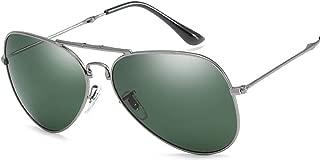 SGJFZD New Fashion Outdoor Seaside Sunscreen UV400 Polarized Sunglasses Fishing Ladies' Sporting Large Frame Elegant Sunglasses (Color : Green)