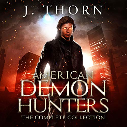 American Demon Hunters - The Complete Collection     An Urban Fantasy Supernatural Thriller PLUS Seven Novellas              By:                                                                                                                                 J. Thorn,                                                                                        Zach Bohannon,                                                                                        Jim Heskett,                   and others                          Narrated by:                                                                                                                                 Jean Lowe Carlson                      Length: 20 hrs and 4 mins     3 ratings     Overall 3.7