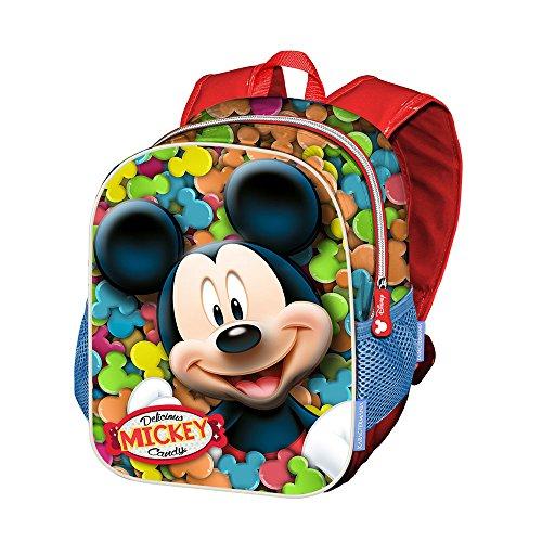 Kinderrucksack Karactermania Mickey Mouse, 39 cm, Rot