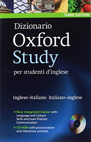 Dizionario Oxford Study. Per studenti d'inglese. Third Edition -Rom & 25 eReaders Library [Lingua inglese]