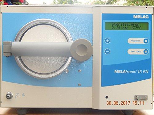 MELAG Melatronic 15-EN Autoklav Baujahr: 2006 mit Trayhalter, 1Tablett + Handgriff, diente als Ersatzgerät