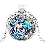 Aeromdale Music Pendant, Music Necklace Music Jewelry Music Jewellery Music Lover's Gift