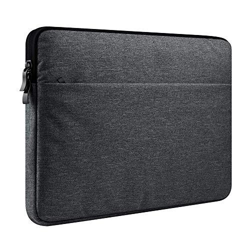 Laptophülle für 33,8 cm (13,3 Zoll) Dell Inspiron/XPS 13/31,8 cm (12,5 Zoll) Latitude, Acer Chromebook R 13 / Spin 5, Surface Book 1, 2/13,3 Zoll Razer Blade Stealth Grau dunkelgrau