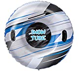 JOYIN Snow Tube, 47 Inches Inflatable Snow Sled for Kids and Adults, Heavy Duty Inflatable Snow Tube Made by...