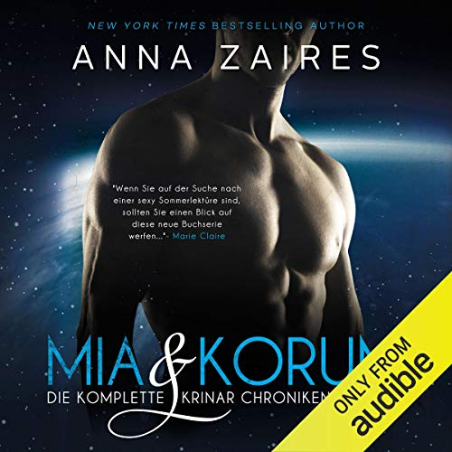 Couverture de Mia & Korum (Die komplette Krinar Chroniken Trilogie) [German Edition]