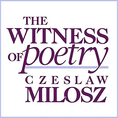 The Witness of Poetry audiobook cover art