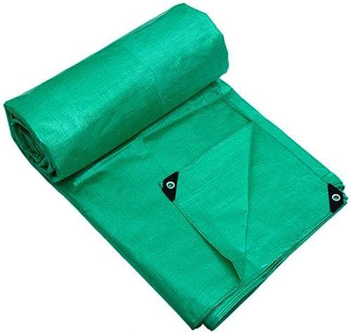 Baches de prougeection CJC Bache 175g m2 PE Sol Drap Couvertures Camping Pêche Jardinage Animaux Domestiques (Couleur   vert, Taille   10x8m)