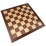 Kratos Chess Board with Inlaid Walnut Wood, Large 15 x 15...