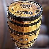 """Cheeky Chicks Getränkeschrank aus recycelter Eiche, echtes Isle-of-Jura-Whiskyfass """"Alfie"""", Bartisch"""