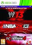 NBA 2K13 + WWE 13 + Top Spin 4 [Importación Francesa]