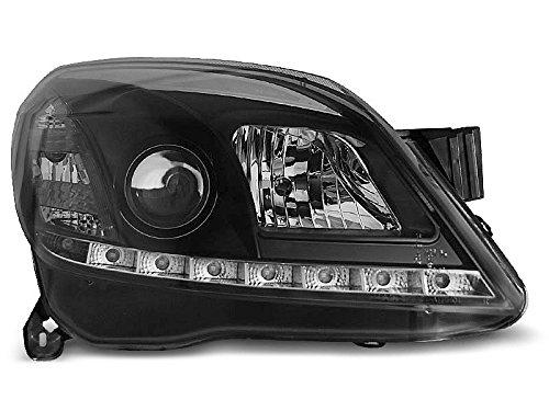 Koplampen Astra H 04-09 Daylight LED zwart (P64)