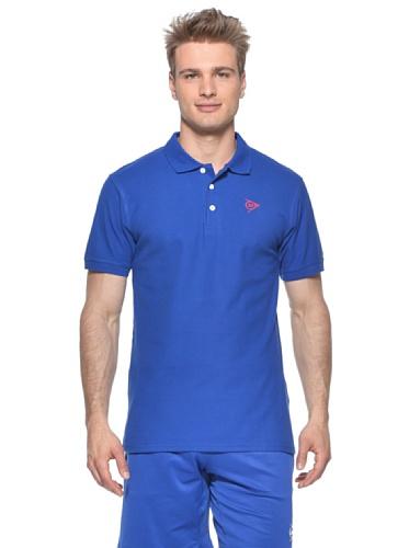 Dunlop Oberkörper-Bekleidung Casual Basic Polo Men, Blau, M