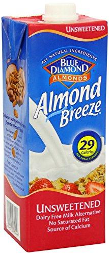 Blue Diamond Almond Breeze Amandeldrank zonder suiker   100% plantaardig, vrij vna gluten, lactose en suiker   Bron van calcium, potasium, vitamine A, B, D en E   Geschikt voor diabetici, veganisten en vegetariërs   29 kcal per 200 ml.