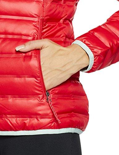 Columbia Women's Flash Forward Down Jacket, Red Camellia/Spray, Medium