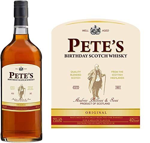 Party People 1 x Etiqueta DE Botella DE Whisky ESCOCES Personalizado. Cualquier Nombre Y Mensaje