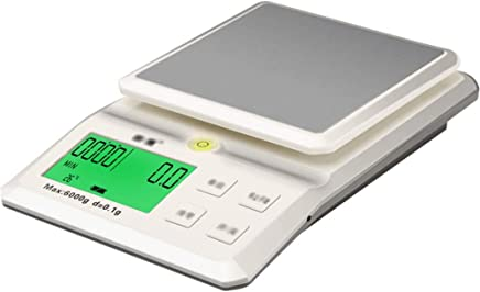 Kitchen Scales - Stainless Steel/ABS, LCD Large Screen Display, 5 Units Conversion, Home Multi-Function high-Precision Food Baking Charging Small Measuring Scale - 2 Range Optional (Size : 15kg)