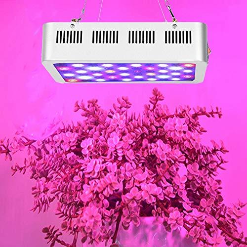 Cerlingwee Plant Growing Light LED Light Source Lightweight Growing Light for Basement Flower Planting Greenhouse Planting(European regulations)