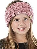 Kids Headwrap Headband Ear Warmer - Indi Pink