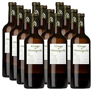 Vino Blanco Crego e Monaguillo Godello - D.O. Monterrei - Caja 12 botellas x 75cl