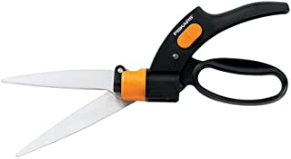 Fiskars 92146964J Swivel Soft Touch Grass Shear, 360 Degrees