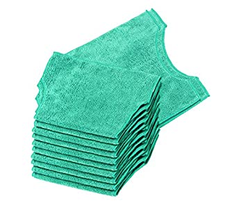 Real Clean Microfiber Refills Compatible with Swiffer and Clorox ReadyMop  Pack of 12  Reusable