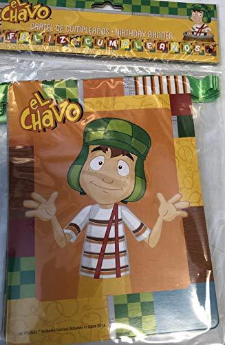 El Chavo del Ocho Party Jointed Banner Favor Happy Birthday Decoration Supplies