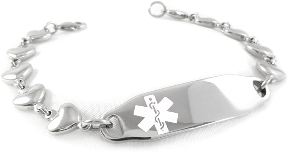 gift My Identity Doctor - Pre-Engraved Customized Outlet ☆ Free Shipping Diabetes Juvenile