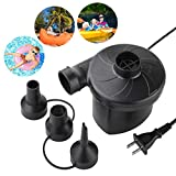 Deyace Electric Air Pump, Air Mattress Pump for Inflatable Blow up Pool Raft Bed Boat Toy Exercise...