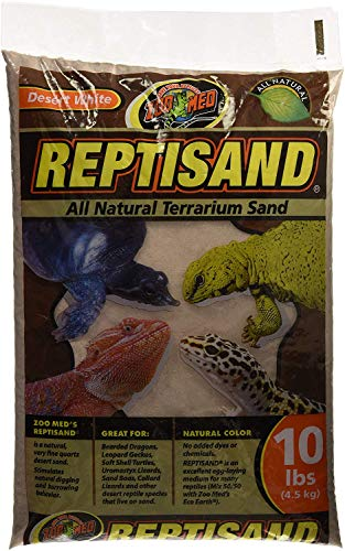 Zoo Med (2 Pack) Repti Sand Desert White All Natural 10 lbs