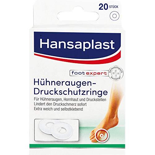 Hansaplast Hühneraugen-Druckschutzringe, 20 St. Pflaster
