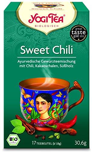 Yogi Tea Bio Sweet Chili Tee Beutel 6x17St.