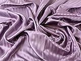Minerva Crafts Satin Streifen Gemustert Acetat Futter Kleid