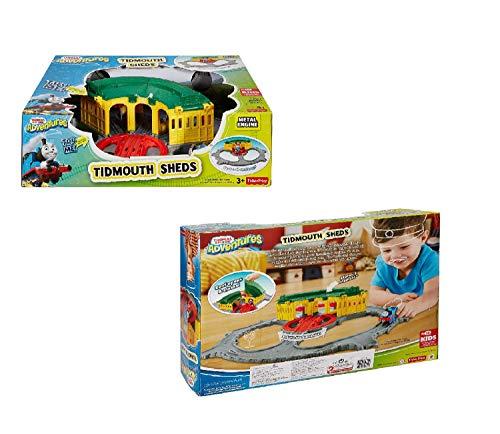 Train Thomas The Thomas Adventures Tidmouth Sheds Playset